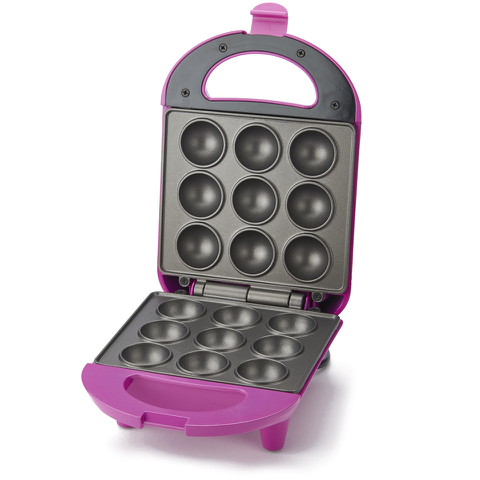 Pretty Pink Mini Cake Pop Maker - Pink