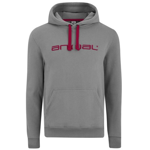 Animal Men's Luna Hoody - Pewter Grey