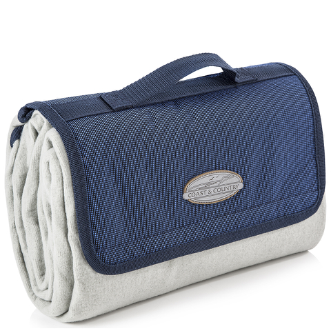 Coast & Country CC20006 Fleece Picnic Blanket - Blue