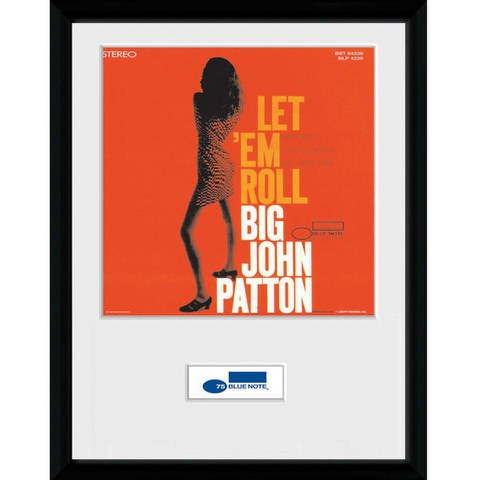 Blue Note Patton Bravado - Framed Photographic - 16 Inch x 12 Inch