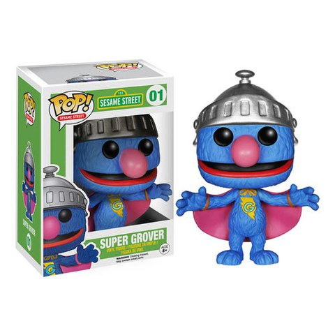 Sesamstraße Super Grover Funko Pop! Figur