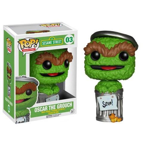 Sesame Street Oscar The Grouch Funko Pop! Figur