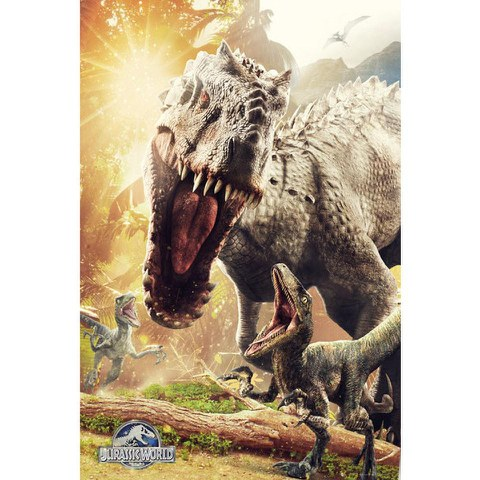 Jurassic World Attack - Maxi Poster - 61 x 91.5cm