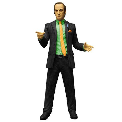 Breaking Bad Saul Goodman Green Shirt Previews Exclusive 6 Inch Action Figure