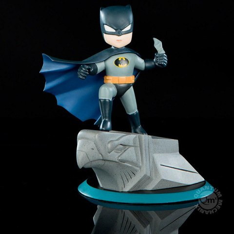Quantum Mechanix DC Comics Batman Q-Pop Action Figure