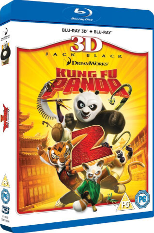 Kung Fu Panda 2 3D (Includes 2D version)