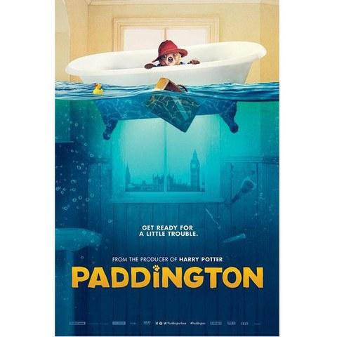 Paddington Bath - 24 x 36 Inches Maxi Poster