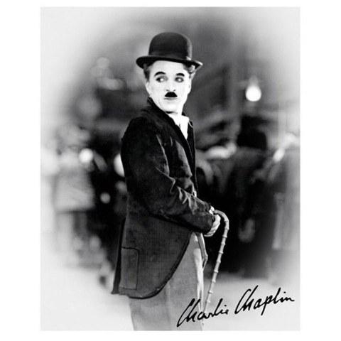 Charlie Chaplin Cane - 16 x 20 Inches Mini Poster