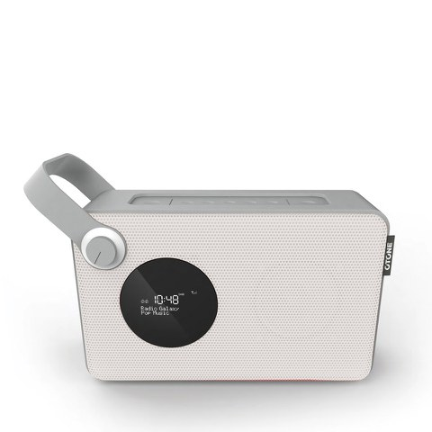Otone BluMotion Portable Bluetooth DAB Radio - White