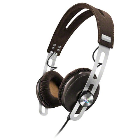 Sennheiser Momentum 2.0 On-Ear Headphones Inc In-Line Remote & Mic - Brown