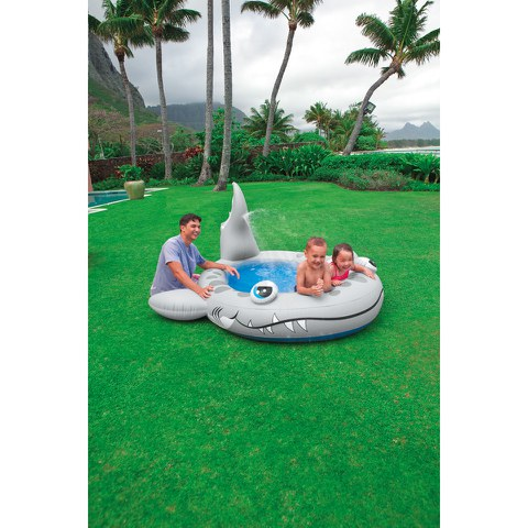 Intex Sandy Shark Spray Pool (90 Inches)