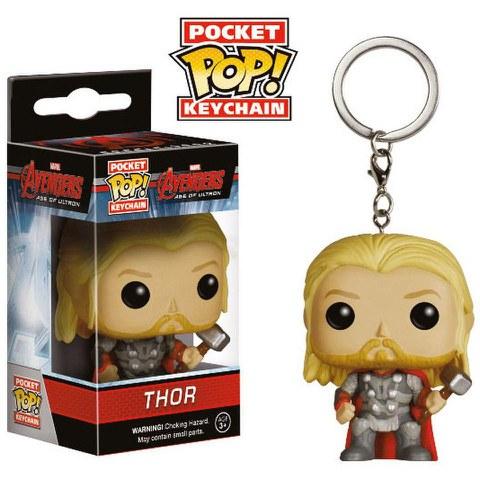 Marvel Avengers l'Ère d'Ultron Thor Porte-clés Pocket Pop!