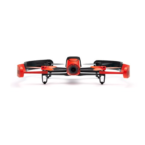 Parrot Bebop Drone and Skycontroller (Embedded GPS, 14MP Camera, 1080p HD Camcorder, 8GB Flash Storage) - Red