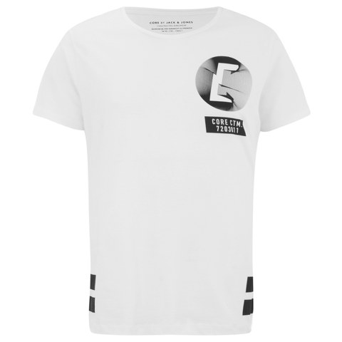 Jack & Jones Men's Sway T-Shirt - White