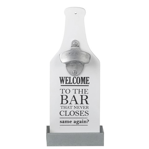 Parlane Bottle Opener - White