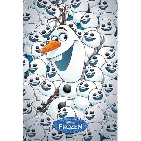 Disney Frozen Fever Olaf & baby Olafs - 24 x 36 Inches Maxi Poster