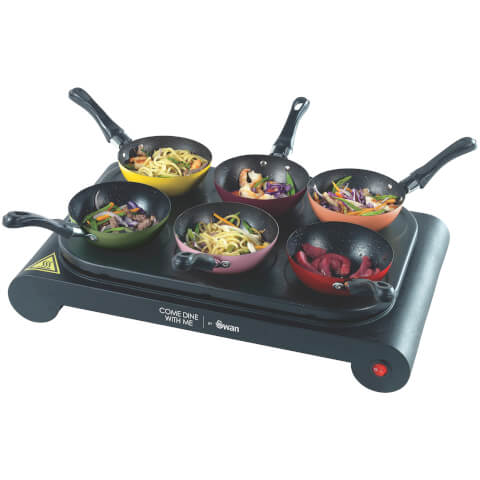 Swan SF23010CDWMN Pancake Maker and Party Wok