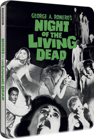 Night Of The Living Dead - Zavvi Exclusive Limited Steelbook (UK EDITION)
