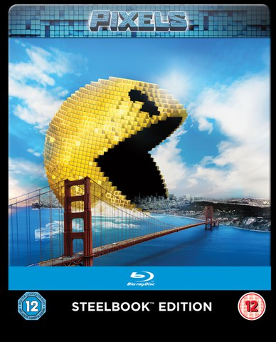 Pixels - Limited Edition Steelbook (UK EDITION)