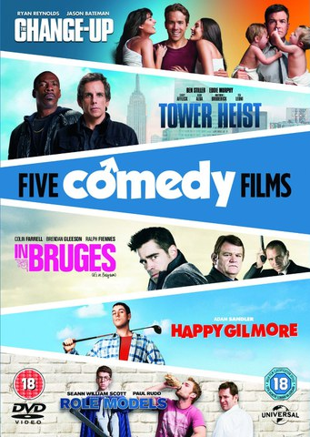 The Change-Up/ Tower Heist/ Happy Gilmore/ In Bruges/ Role Models