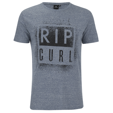 Rip Curl Men's Obvious Print T-Shirt - Ocean Marl