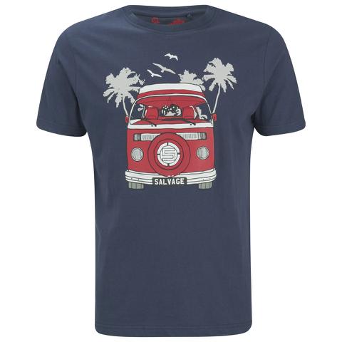 Salvage Men's Campervan T-Shirt - Navy