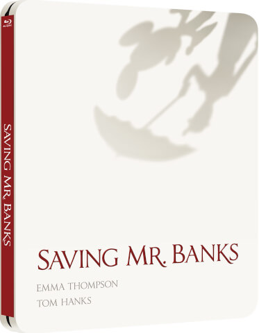 Saving Mr Banks - Zavvi exklusives (UK Edition) Limited Edition Steelbook