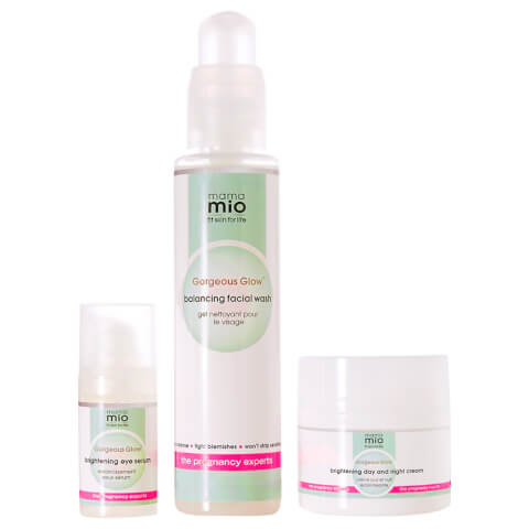 Mama Mio Gorgeous Glow 3-Step Set