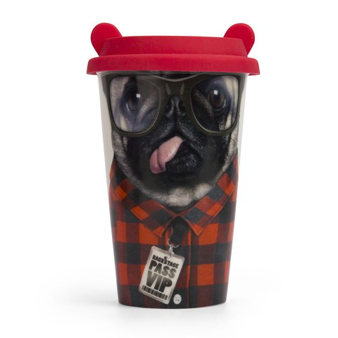 Coffee Crew Ceramic Cup - Dog