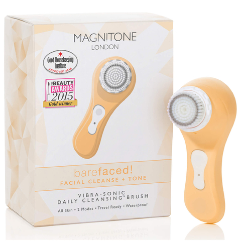 Magnitone London BareFaced Vibra-Sonic™ Daily Cleansing Brush - Pastel Orange