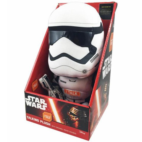 Peluche Parlante Stormtrooper Star Wars 23cm *Anglais*