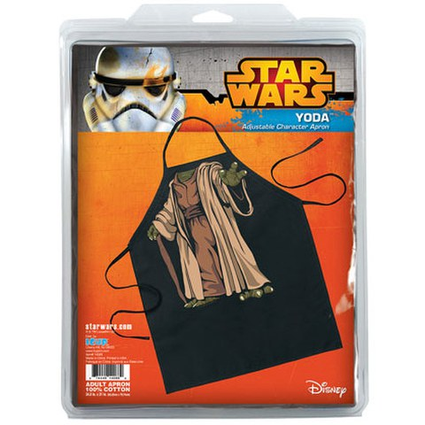 Star Wars Yoda Be The Character Apron