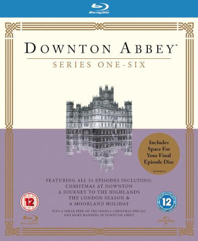 Downton Abbey - Staffel 1-6 Blu-ray