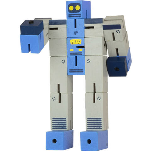 Professor Puzzle Planet Robot