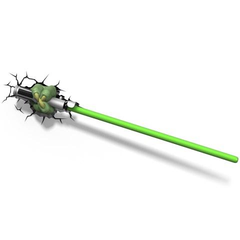 Lampe 3D Sabre Laser de Yoda Star Wars