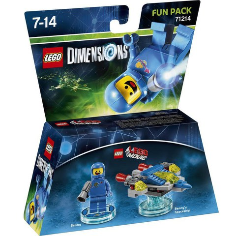 LEGO Dimensions, LEGO Movie, Benny Fun Pack