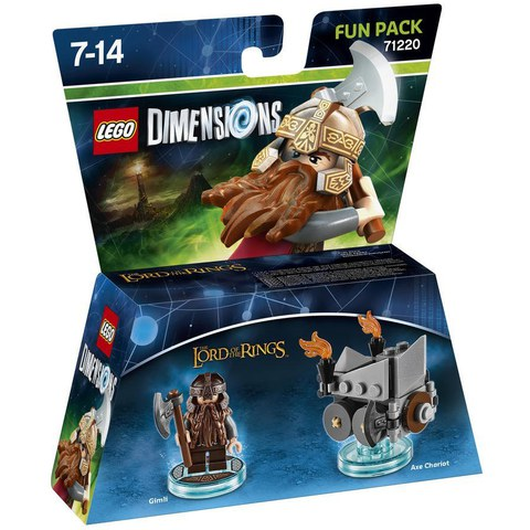LEGO Dimensions, LOTR, Gimli Fun Pack