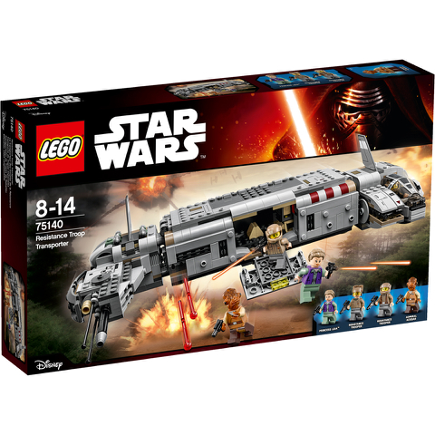 LEGO Star Wars: Resistance Troop Transporter (75140)