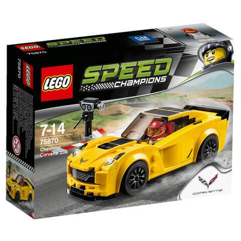 LEGO Speed Champions: Chevrolet Corvette Z06 (75870)