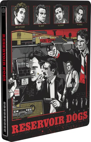 Reservoir Dogs - Mondo X Steelbook - UK Exclusive Limited Edition Steelbook