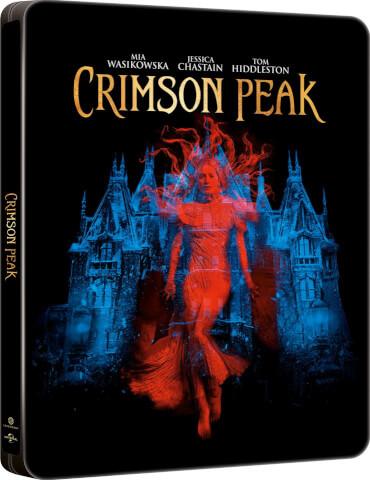Crimson Peak - Zavvi exklusives Limited Edition Steelbook (Limitiert auf 3000 Kopien) Blu-ray