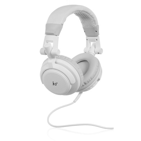 Kitsound High Quality DJ Headphones - White
