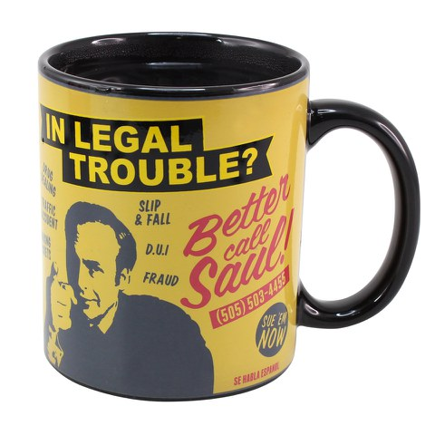 Better Call Saul Heat Change Mug