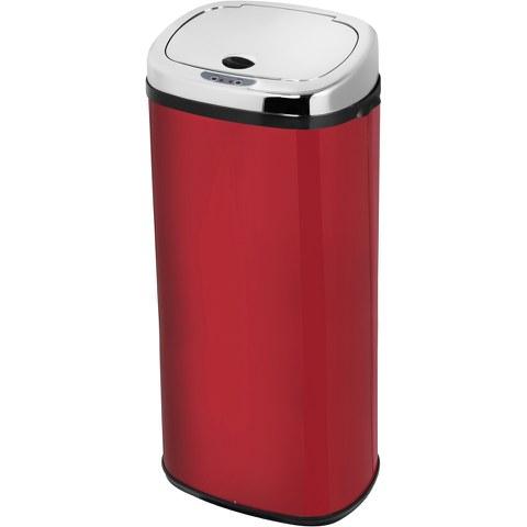 Morphy Richards 971516/MO 50L Square Sensor Bin - Red