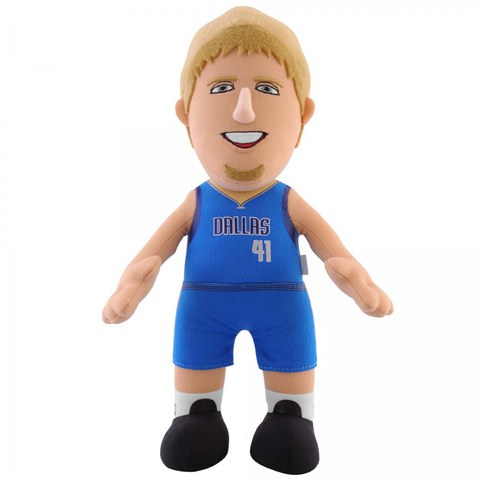Dallas Mavericks Dirk Nowitzki 10 Inch Bleacher Creature