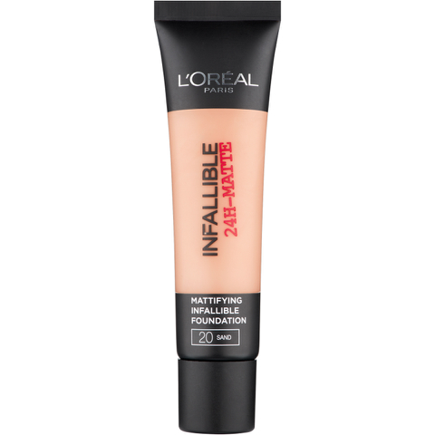 L'Oreal Paris Infallible 24H-Matte Foundation - 20 Sand