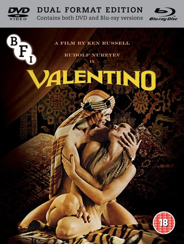 Valentino - Dual Format (Includes DVD)