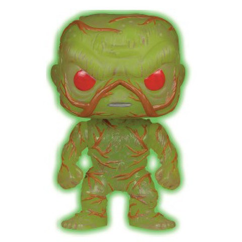 DC Comics POP! Heroes Vinyl Figura Glow-In-The-Dark Swamp Thing