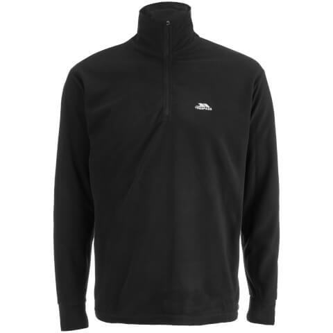 Trespass Men's Masonville Half Zip Fleece Jumper - Black