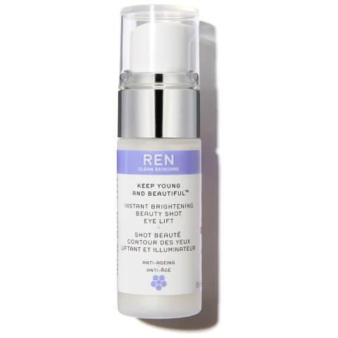 REN Keep Young and Beautiful™ Instant Brightening Beauty Shot Eye Lift (15ml)